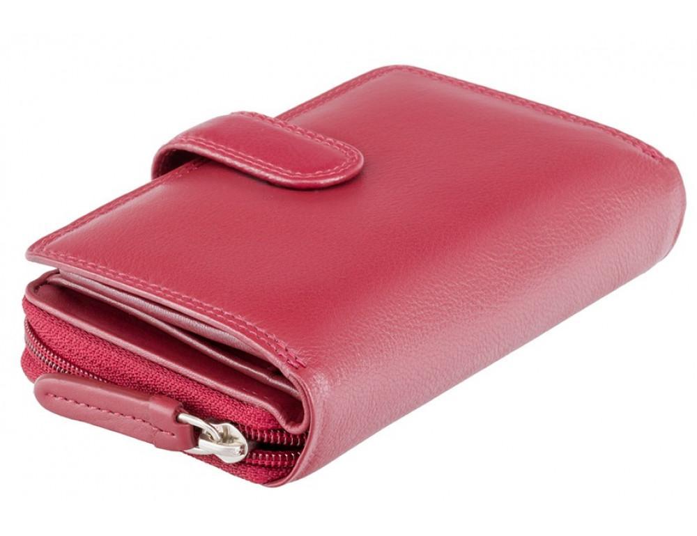 Красный кожаный женский Visconti HT33 RED Madame c RFID - Фото № 3