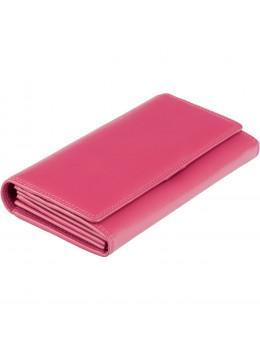 Великий жіночий гаманець кольору фуксія Visconti HT35 FCS Buckingham c RFID (Fuchsia)