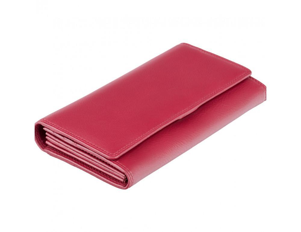 Красный женский кошелёк большого размера Visconti HT35 RED Buckingham c RFID (Red) - Фото № 1