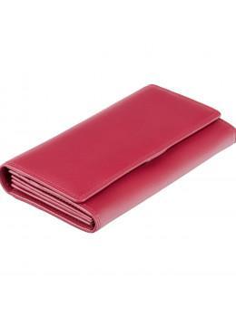 Червоний жіночий гаманець великого розміру Visconti HT35 RED Buckingham c RFID (Red)