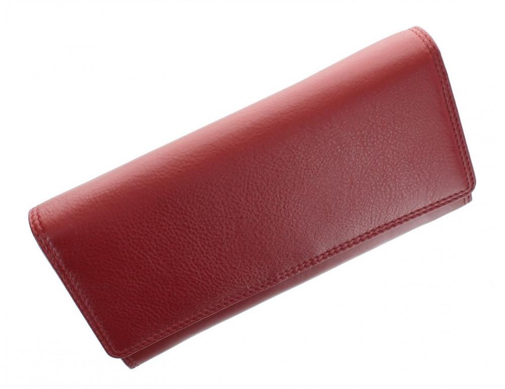 Красный женский кошелёк большого размера Visconti HT35 RED Buckingham c RFID (Red) - Фото № 5