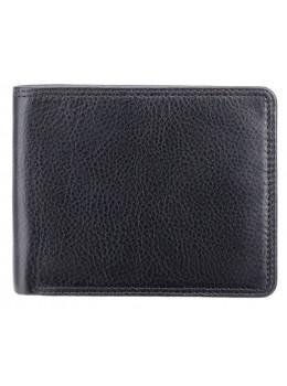 Стильный мужской бумажник Visconti HT7 BLK Heritage черный
