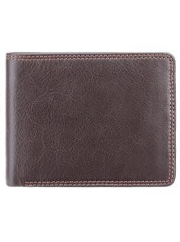 Стильный мужской бумажник Visconti HT7 CHOC Heritage коричневый