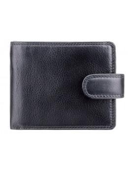 Чоловічий шкіряний гаманець Visconti HT9 blk Чорний