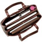 Коричневая кожаная сумка для женщин Visconti ITL80 TAN - Фото № 104