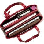 Красная кожаная сумка для женщин Visconti ITL80 RED - Фото № 104