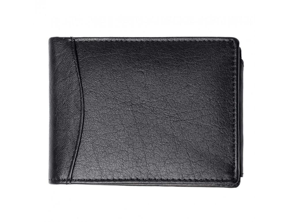 Мужской кожаный кошелёк без засчёлки JCB JCBNC53 BLK - Фото № 3