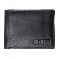 Недорогой мужской кошелёк из натуральной кожи JCB NC51 Black