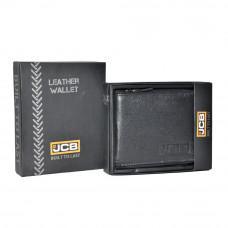 Маленький кожаный портмоне на молнии JCB JCBNC38MN BLK