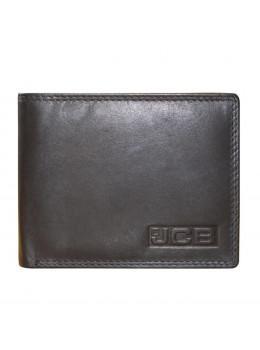 Мужской кошелёк из гладкой телячьей кожи JCB NC44MN Black
