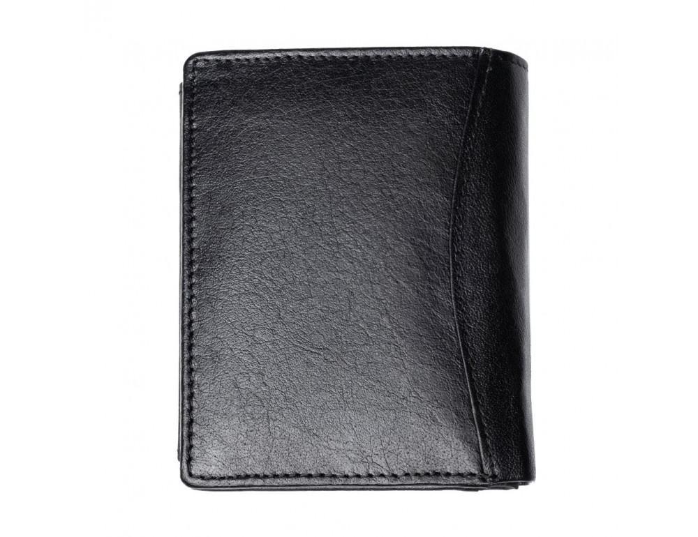 Мужской вертикальный кошелёк из кожи JCB JCBNC54 BLK - Фото № 3