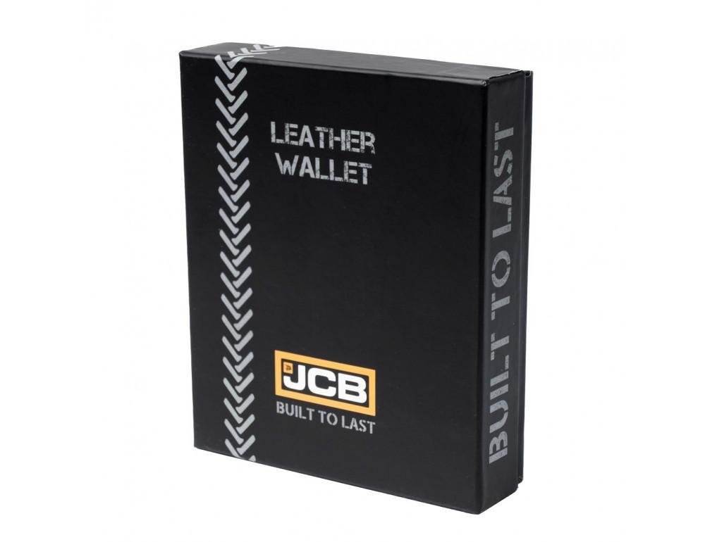 Мужской вертикальный кошелёк из кожи JCB JCBNC54 BLK - Фото № 7