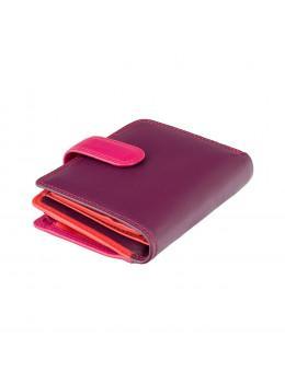 Фиолетовый кошелек женский Visconti RB40 PLUM M Bali c RFID (Plum Multi)