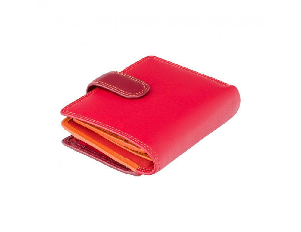 Красный кошелек женский Visconti RB40 RED M Bali c RFID (Red Multi) - Фото № 1