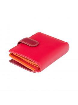 Красный кошелек женский Visconti RB40 RED M Bali c RFID (Red Multi)