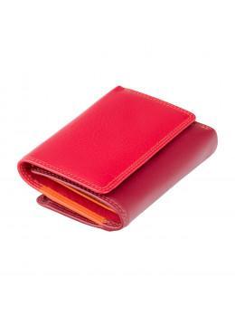 Красный кошелек женский Visconti RB39 RED M Biola c RFID (Red Multi)