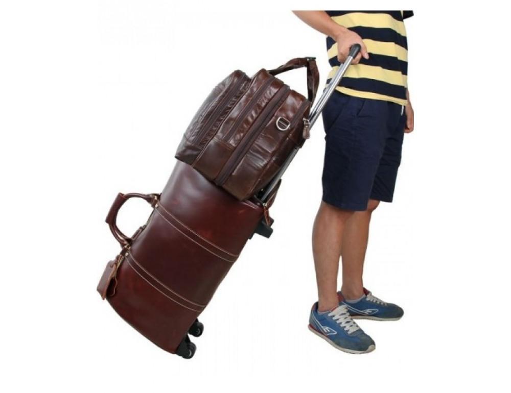 Чоловіча шкіряна сумка TIDING BAG 7343C