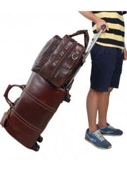Мужская кожаная сумка TIDING BAG 7343C
