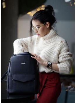Шкіряний жіночий рюкзак blanknote містик BN-BAG-19-mystic