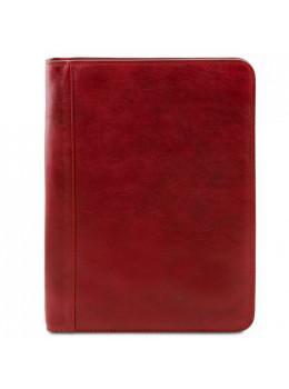Красная кожаная папка для документов OTTAVIO Tuscany Leather TL141294 Red