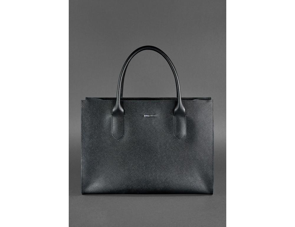 Женская сумка Шоппер BLACKWOOD BN-BAG-27-blackwood черная - Фото № 2