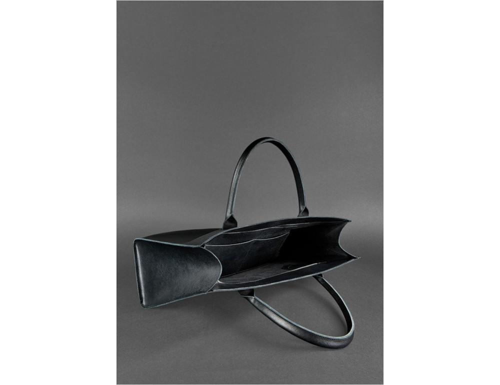 Женская сумка Шоппер BLACKWOOD BN-BAG-27-blackwood черная - Фото № 3
