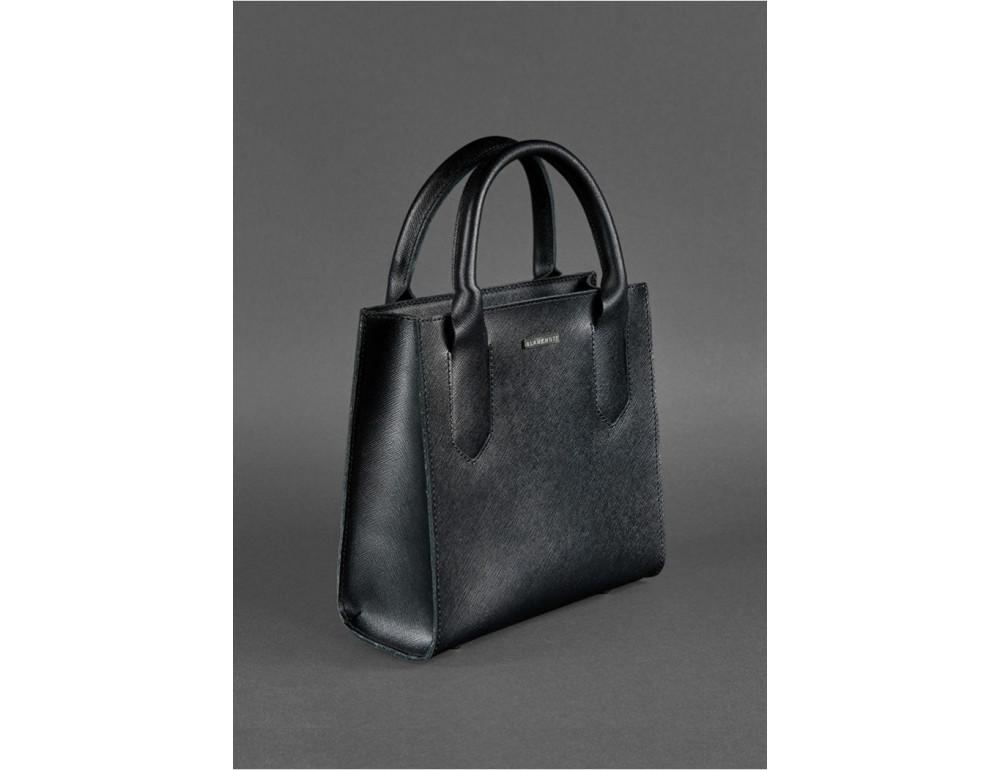 Кожаная женская сумка BLACKWOOD BN-BAG-28-blackwood черная - Фото № 3