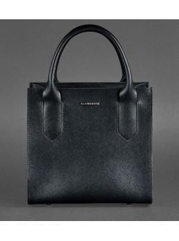 Кожаная женская сумка BLACKWOOD BN-BAG-28-blackwood черная