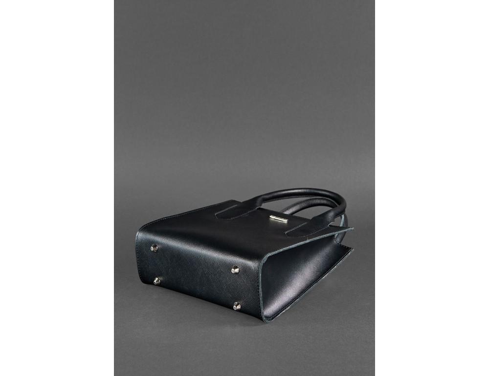 Кожаная женская сумка BLACKWOOD BN-BAG-28-blackwood черная - Фото № 5