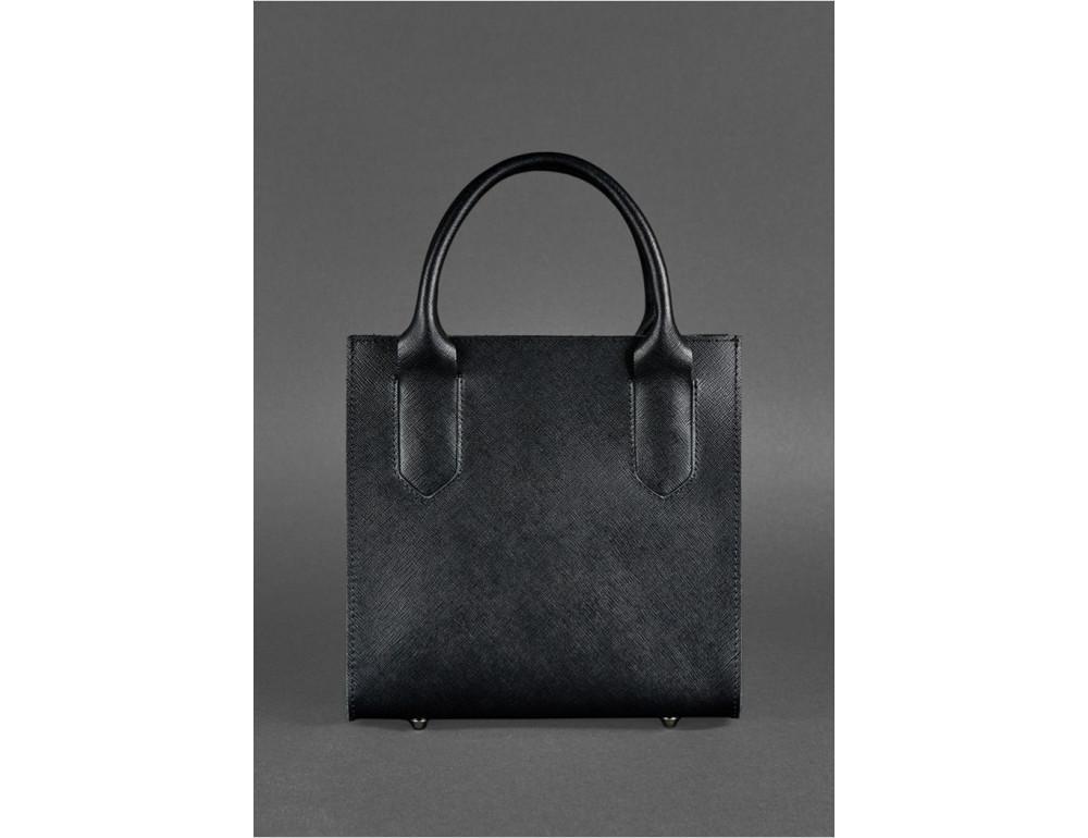 Кожаная женская сумка BLACKWOOD BN-BAG-28-blackwood черная - Фото № 7