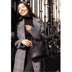 Кожаная женская сумка BLACKWOOD BN-BAG-28-blackwood черная - Фото № 108
