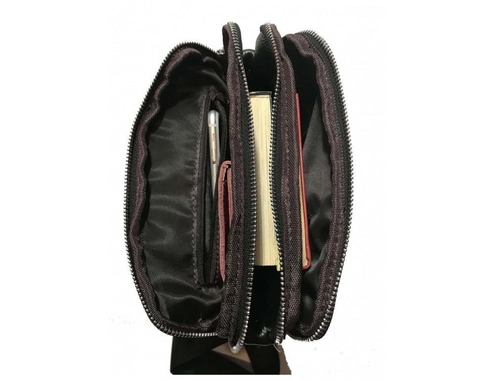 Мужская сумка через плечо на три отделения TIDING BAG M38-3508A - Фото № 6