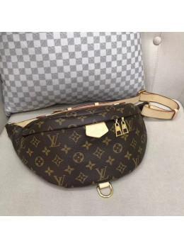 Коричневая сумка на пояс (бананка) Louis Vuitton Bumbag BAN-LV150