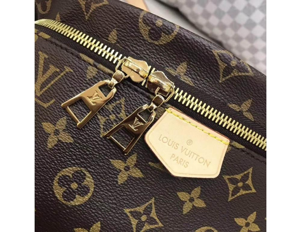 Коричневая сумка на пояс (бананка) Louis Vuitton Bumbag BAN-LV150 - Фото № 5