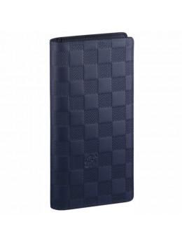 Бумажник Louis Vuitton Brazza Damier Infini Lv60015bl синий