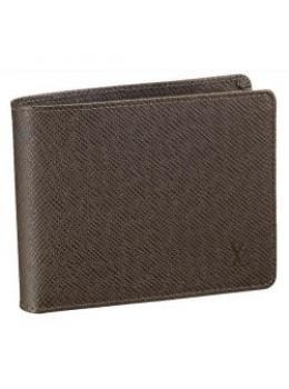 Тёмно-коричневый мужской портмоне Louis Vuitton Lv60895-2