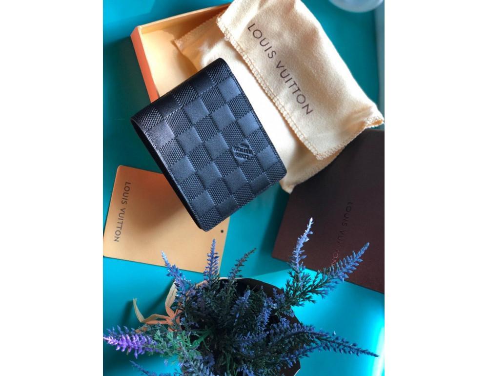 Чоловічий портмоне Louis Vuitton LV60895 чорний - Фотографія № 2