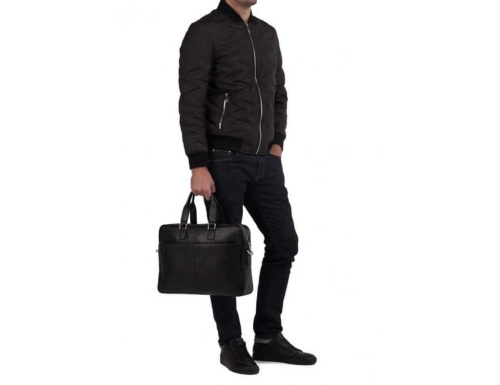 Мужская кожаная сумка TIDING BAG M2164A - Фото № 2
