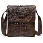 Коричневая сумка через плечо Tiding Bag M37-9881C - Фото № 100