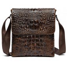 Коричневая сумка через плечо Tiding Bag M37-9881C