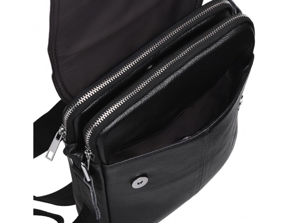 Мужская сумка через плечо на три отделения TIDING BAG M38-3508A - Фото № 9