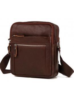 Мужская сумка-мессенджер из кожи TIDING BAG M38-3922C