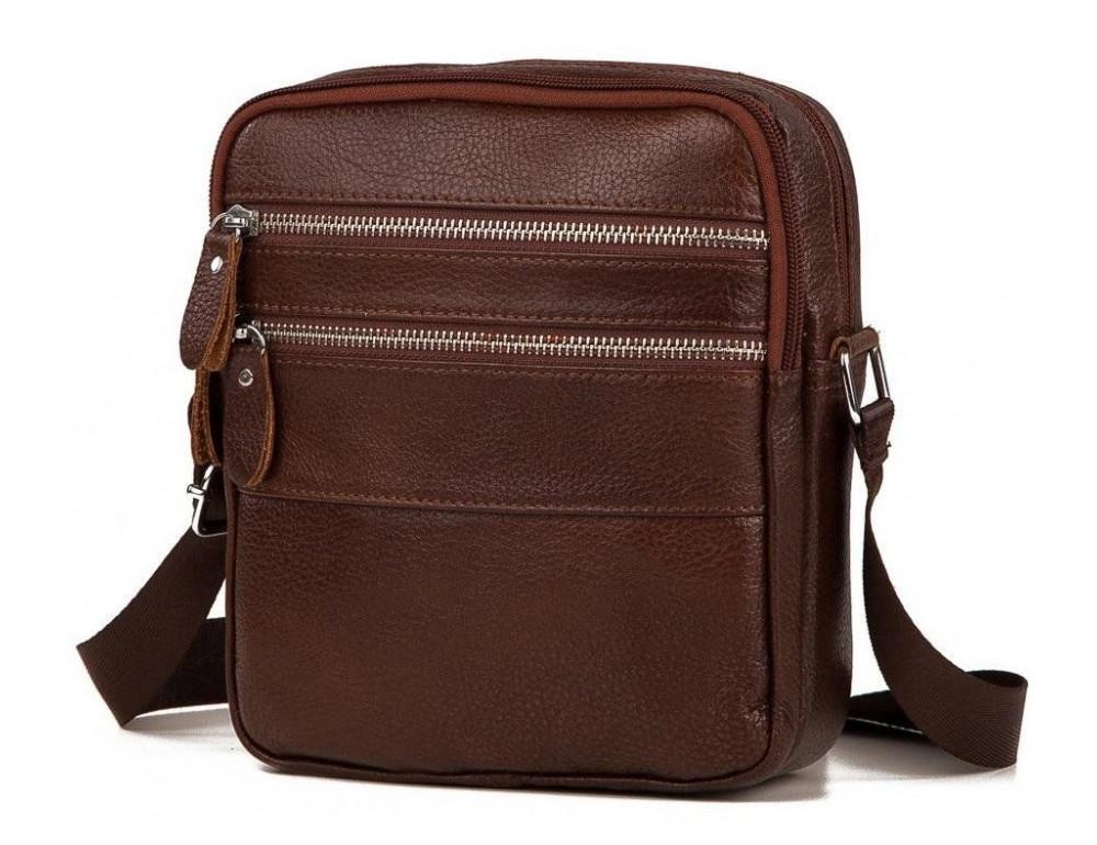 Чоловіча сумка-месенджер зі шкіри TIDING BAG M38-3923C