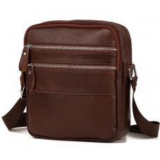 Мужская сумка-мессенджер из кожи TIDING BAG M38-3923C