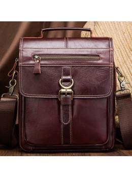 Мужской мессенджер Tiding Bag M38-5029C коричневый