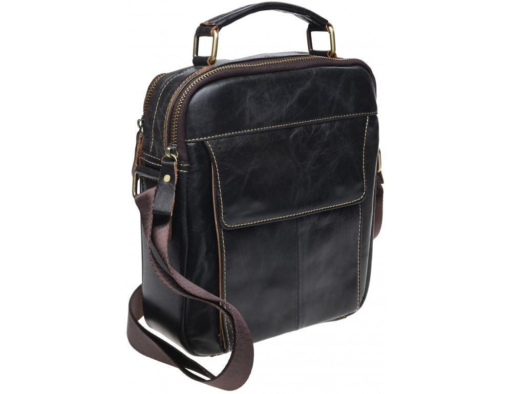 Чоловіча месенджер Tiding Bag M38-5029DB темно-коричневий