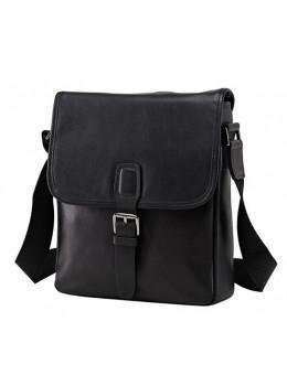 Мужская кожаная сумка Tiding Bag M47-33037-2A чёрная