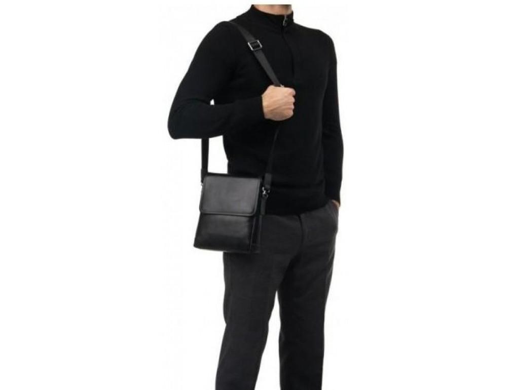 Сумка через плечо Tiding Bag M685-1A черная - Фото № 2