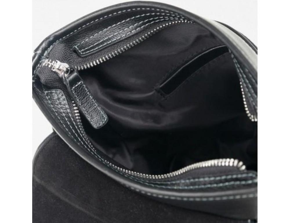 Сумка через плечо Tiding Bag M685-1A черная - Фото № 5