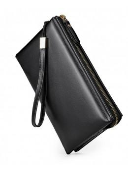 Мягкий кожаный клатч на руку Tiding Bag M7305A